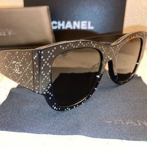 Chanel Crystal Sunglasses